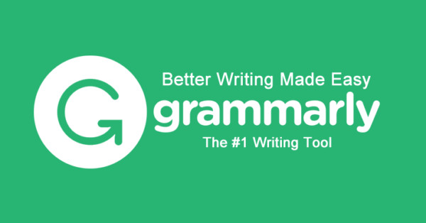 Proofreading tool Grammarly