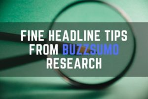 Headline tips for content marketers