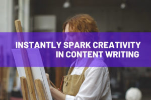 Creativity in content writing